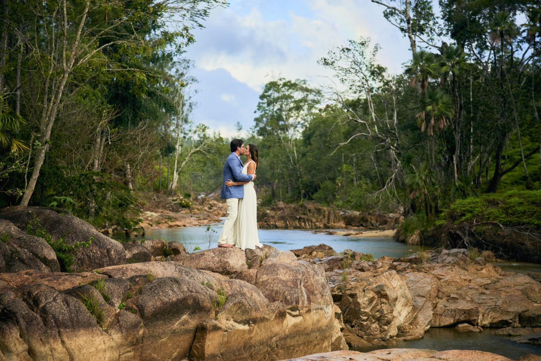 Bride and Groom at Mountain Pine Ridge, Belize