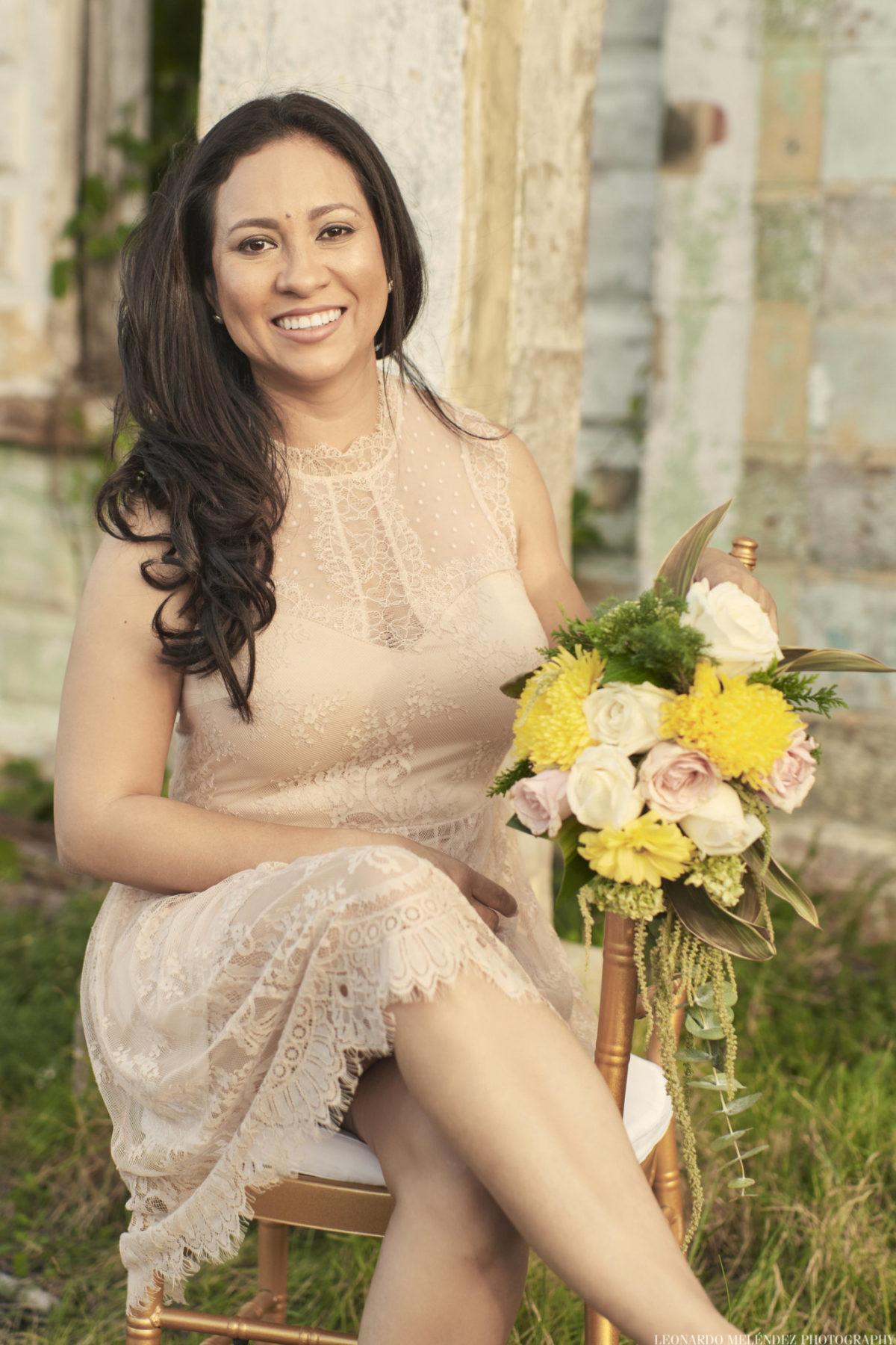 Samantha Bradley, event and wedding planner in Belize